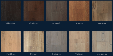 The Colonial Collection Hardwood Flooring